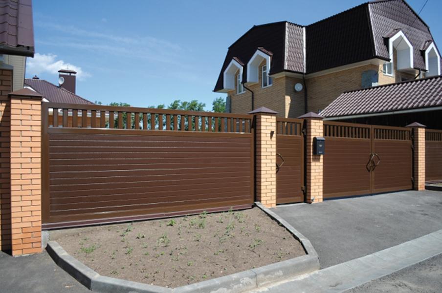 Ворота для частных домов цены на них забор маленькой дачи